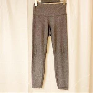 Lululemon Athletica Light Grey High Times Leggings